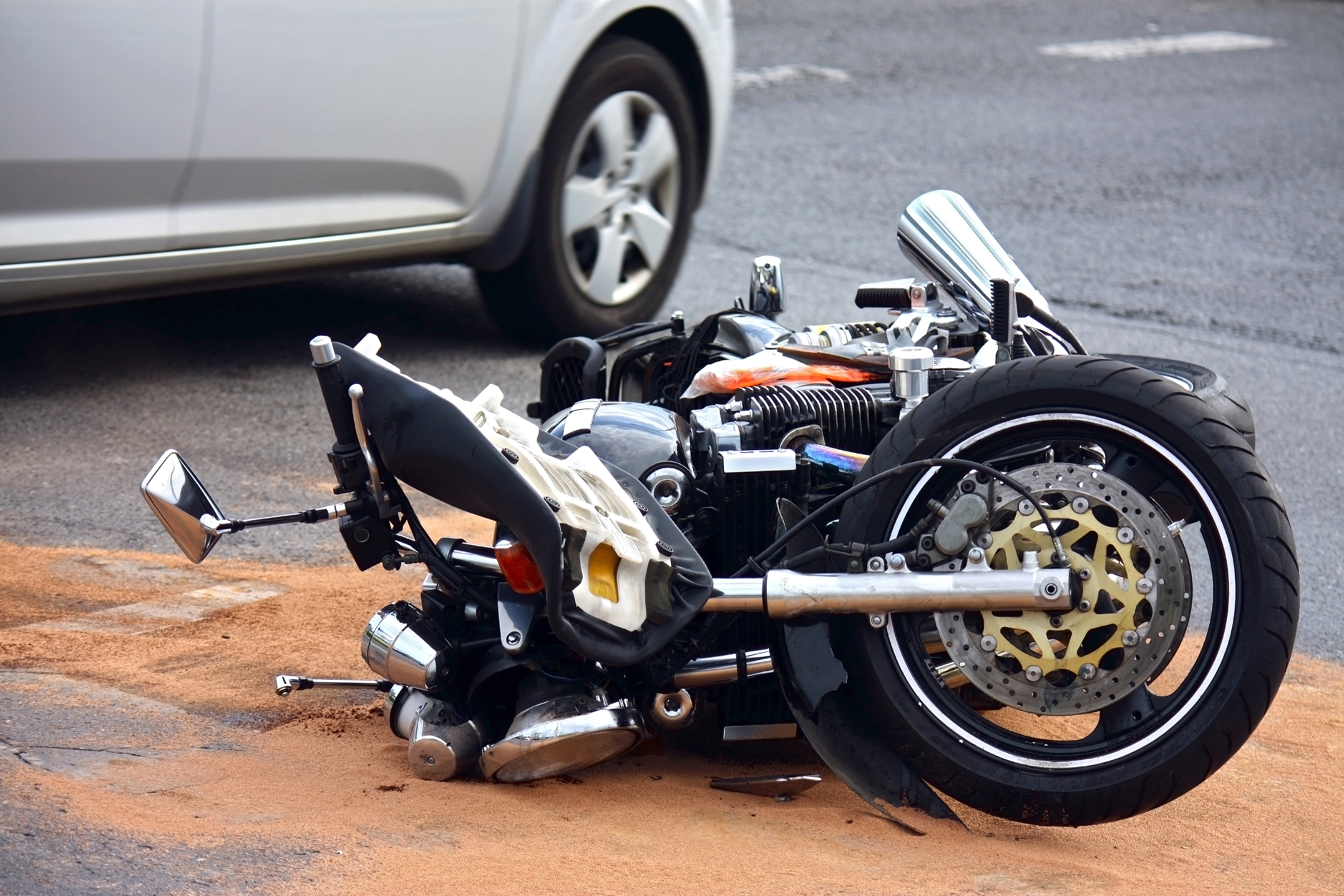 left turn motorcycle accident